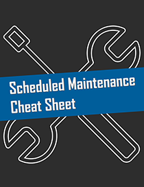 Car Maintenance Cheat Sheet
